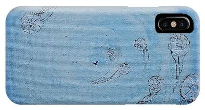 IPhone Case featuring the painting Going Deeper by Kim Nelson