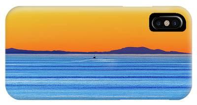 Golden Sunset Series I I IPhone Case