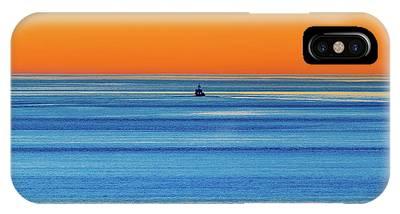 Golden Sunset Series I I I IPhone Case