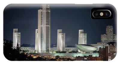 IPhone Case featuring the photograph Goodnight Albany by Brad Wenskoski