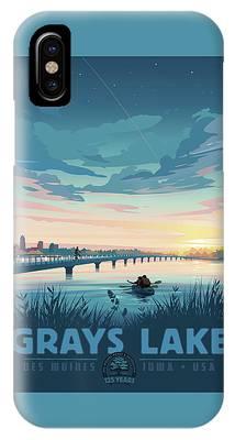 Grays Lake IPhone Case