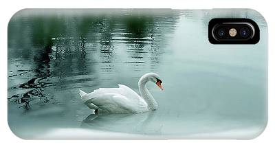 Trumpeter Swan Phone Cases