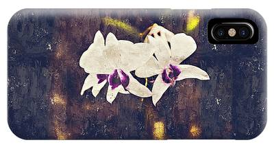 Hawaiian Tree Orchid IPhone Case
