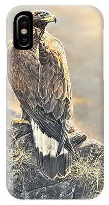 Highlander - Golden Eagle IPhone Case
