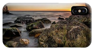 IPhone Case featuring the photograph Horizon Glow by Mike Long