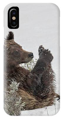 I Have A Foot IPhone Case by Ronnie and Frances Howard