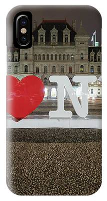I Love Ny IPhone Case by Brad Wenskoski