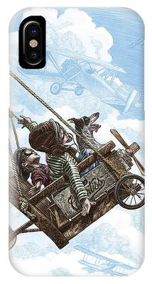 I Want To Fly IPhone Case