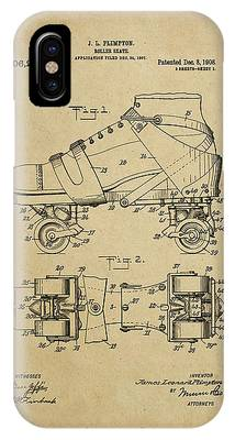 J. L. Plimpton, Roller Skate, Patented Dec.8,1908. IPhone Case