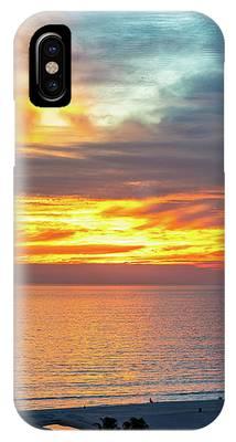 January Sunset - Vertirama IPhone Case