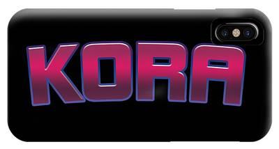 Kora iPhone Cases