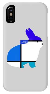 Lapin Agile Blue IPhone Case