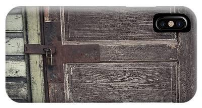 Leather Door IPhone Case