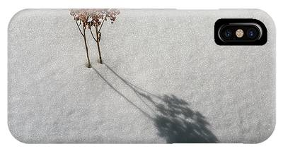 Long Shadow Of Winter IPhone Case