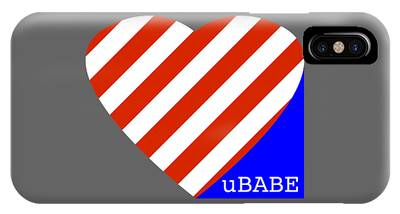 Love Ubabe America IPhone Case
