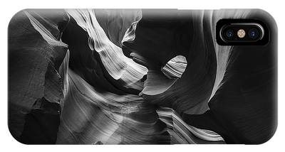 IPhone Case featuring the photograph Lower Antelope Canyon by Mike Long