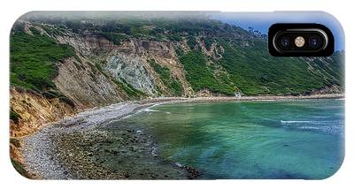 IPhone Case featuring the photograph Marine Layer Over Bluff Cove by Andy Konieczny