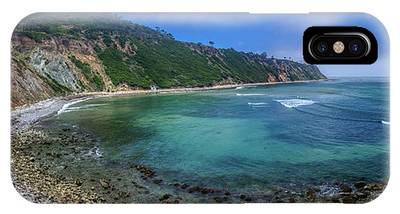 IPhone Case featuring the photograph Marine Layer Over Bluff Cove Panorama by Andy Konieczny