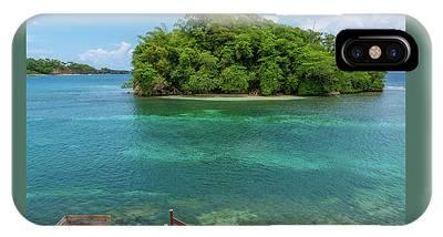 Monkey Island In Portland Jamaica IPhone Case