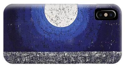 Moonbathing Original Painting IPhone Case