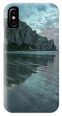 Morro Rock Sunset IPhone Case by Mike Long