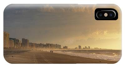 IPhone Case featuring the photograph Myrtle Sunrise by Brad Wenskoski