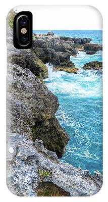Negril Jamaica Cliffs IPhone Case