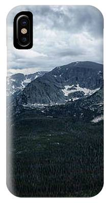 Never Summer Mountains Panorama IPhone Case by Andy Konieczny