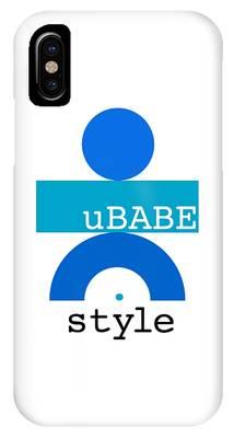 Ocean Blue Babe IPhone Case