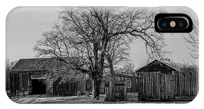 Out In The Barn Yard IPhone Case