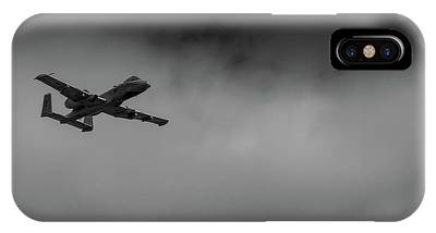 Out Of The Clouds - A-10c Thunderbolt IPhone Case