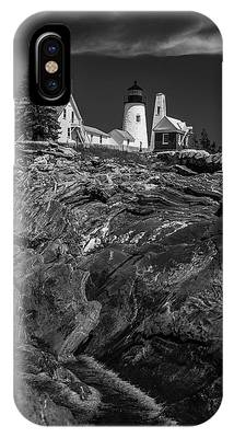 Pemaquid Monochrome IPhone Case