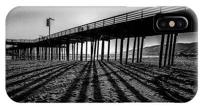 IPhone Case featuring the photograph Pismo Beach Pier by Mike Long