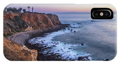 IPhone Case featuring the photograph Point Vicente Lighthouse Long Exposure by Andy Konieczny