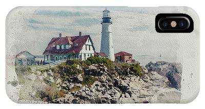 Portland Head Lighthouse Cape Elizabeth Maine IPhone Case