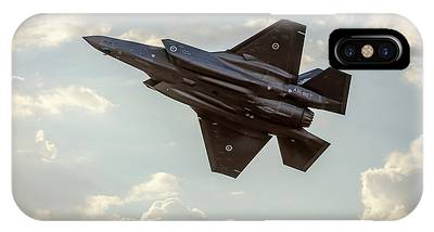 IPhone Case featuring the photograph Raaf F-35a Lightning II Joint Strike Fighter by Chris Cousins