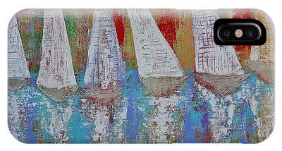 Regatta Original Painting IPhone Case