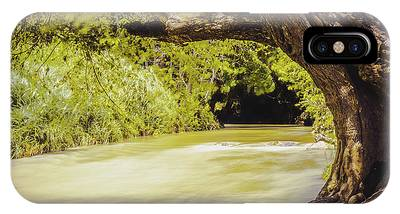 River Banks In Trelawny Jamaica IPhone Case