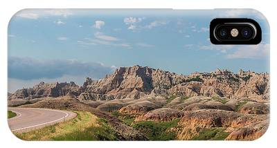 Road To The Badlands IPhone Case