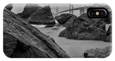 IPhone Case featuring the photograph Rocky Marshall's Beach by Mike Long