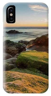 Rocky Pismo Sunset IPhone Case by Mike Long
