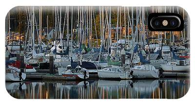IPhone Case featuring the photograph Sailboat Reflections by Patricia Strand