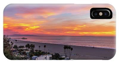 Santa Monica Pier Sunset - 11.1.18  IPhone Case