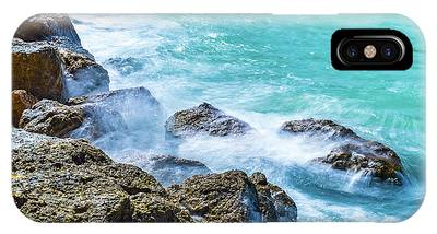 Sea Rocks In Montego Bay IPhone Case