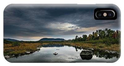 Stormy Day In Maine IPhone Case