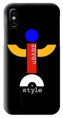Style Black IPhone Case