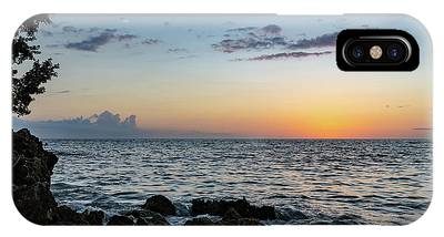 Sunset Afterglow In Negril Jamaica IPhone Case