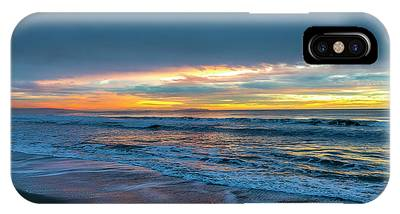 Sunset Fire Over Catalina Island 2 IPhone Case
