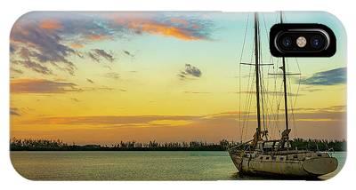 Sunset On The Lagoon IPhone Case