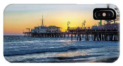 Sunset Under The Pier IPhone Case